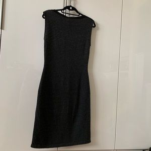 ❤️Ralph Lauren Houndstooth wool sweater dress warm